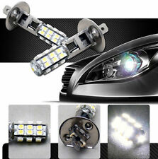 2 x H1 12V 25 SMD LED Pure White HID Look Head Light Lamp Globes Bulbs Fog Car