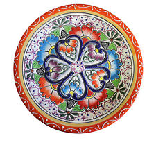 """Mexican Talavera Lunch plate 10"""" Ceramic, Pottery, Handmade"""