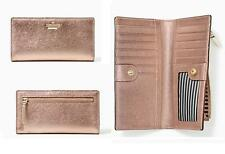 Authentic Kate Spade Cameron Street Stacy Wallet - Rose Gold