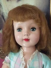"Vintage 1950s American Character HP Sweet Sue Walker 25"" Orginal Outfit"