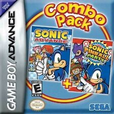 Sonic Advance + Sonic Pinball Party Combo Pack - Game Boy Advance GBA Game