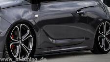 CUP Seitenschweller Schweller Sideskirts ABS für Opel ADAM S Ingo Noak Tuning