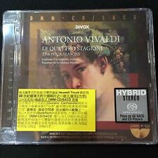 Antonio Vivaldi The Four Seasons Carmignola Sonatori DMM SACD CD NEW