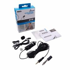 BOYA by-m1 Lavaliere microphone Collar STEREO lapel Mic DSLR & Video Cameras