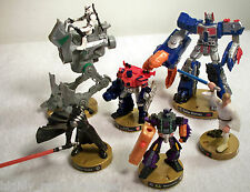 2005 Hasbro Attack Tix Star Wars & Transformer Game Pieces - Lot of 6