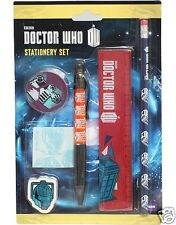 Doctor Who Stationery Set - Great value and an ideal 'any time' gift - NEW