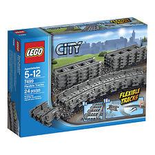 LEGO® City/Eisenbahn Set  (7499) Gerade/Flexible(7897/7898/7938/7939/3677/10219)