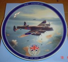 Wedgwood Collectors Plate V E DAY 60TH ANNIVERSARY Daily Mail #2