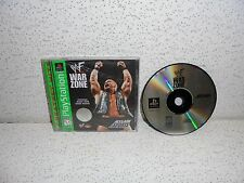 WWF War Zone PS1 Sony PlayStation 1 Video Game RARE WWE Wrestling Stone Cold