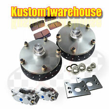 Type2 VW Volkswagen Bus front disc brake conversion kit 1964-67 Billet USA 5/205