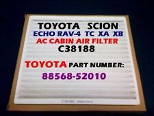 SCION TC XA XB TOYOTA Rav-4 Echo AC CABIN AIR FILTER OEM PREMIUM QUALITY