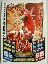 Match Attax 2012/13 Premier League - #226 James Ward-Prowse - Southampton