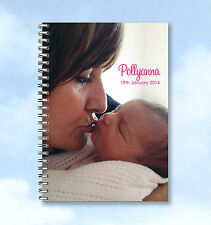 2 x notebooks Personalised A5 and A6 with your own Portrait Photograph