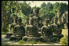 572011Buddha Statues Laos A4 Photo Print