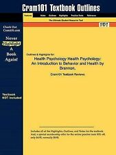 Studyguide for Health Psychology, Cram101 Textbook Reviews