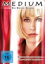 PATRICIA/HOWARD,ARLISS/LARK,MARIA ARQUETTE - MEDIUM S3 MB  6 DVD NEU