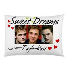 Personalised Robert Pattinson/Edward Cullen (Twilight) Pillowcase Sexy & Silky