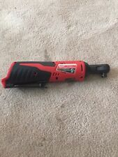 Milwaukee 2457-20 M12 12-Volt Lithium-Ion Cordless 3/8 in. Ratchet (Tool-Only)