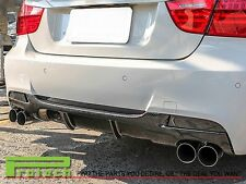 2006-2011 BMW E90 M-Tech M Sport Only P Style Rear Diffuser Quad Exhaust