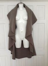 Beautiful Soft Grey Large  Waterfall Cardigan/Wrap Lagenlook