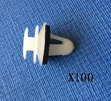 100PCS PEUGEOT SIDE SKIRT DOOR CARD BUMP PANEL LINING REPAIR TRIM CLIPS
