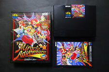 MIRACLE ADVENTURE Spinmaster SNK Neo Geo AES Good.Condition JAPAN
