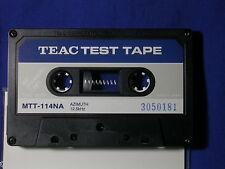 TEAC Azimuth Test Tape MTT-114NA, 12.5kHz -24dB