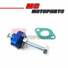 Blue CNC Manual Cam Chain Tensioner For Kawasaki Er 500 Er-5 99-02
