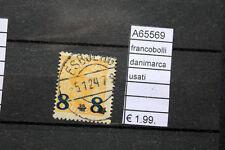 FRANCOBOLLI DANIMARCA USATI (A65569)
