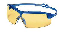 NEW uvex Gravity Zero Safety Glasses. Adjustable Arms. CE std, UV Protection