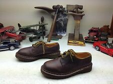VINTAGE DR MARTENS MADE IN ENGLAND BROWN EATHER LACE UP SHOES SIZE 5 M