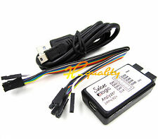 USB saleae Logic Analyzer Device Set USB Cable 24MHz 8CH 24MHz MCU ARM FPGA - UK