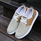 2015 Fashion Men's Summer Casual Breathable Hollow Out Mesh Flat Sneakers Shoes