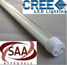 10x CREE T8 LED TUBE 120cm 18w COOL WHITE CLEAR FLUORESCENT BULB SAA LIGHTING