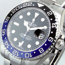 UNWORN ROLEX GMT MASTER ll 116710BLNR BATMAN STEEL BLUE BLACK 116710 BLNR