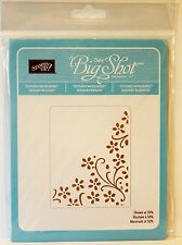 Stampin Up ELEGANT BOUQUET Textured impressions Embossing Folders NEW BigShot