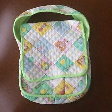 Vintage Cabbage Patch Kids Dolls Baby Diaper Bag Quilted Coleco 1978/1983 Nice!