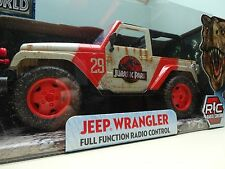 Jurassic World Jeep Remote Control Vehicle Jada Scale 1:16 RC New Park Dinosaur