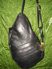 NEW LEATHER BACKPACK SLING HEALTHY BACK PURSE SHOULDER BAG Hand Made in USA!