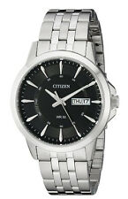 New Citizen Quartz Stainless Steel Bracelet Day & Date Men's Watch BF2011-51E