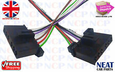 2X FORD TRANSIT MK6 2000 - 2006  REAR LIGHT BULB HOLDER WIRING LOOM CONNECTORS
