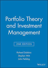 Portfolio Theory and Investment Management, Richard Dobbins