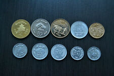 Nepal COMPLETE SETS COINS , 1 SET OF 10 COINS . UNC