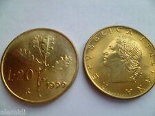 20 lire 1999 ramo di quercia FDC repubblica italiana moneta numismatica