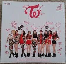 "TWICE - The Story Begins (1st Album) CD ""Like OOH AHH"" Thailand Edition Thai"
