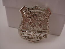"Vintage New York City Police Obsolete Hat Sweetheart Badge 1.25"" x 1"""