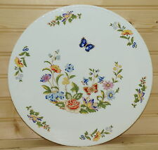 Aynsley Cottage Garden Cake Plate, Rope Edge, 10 3/4""