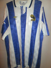 Sheffield Wednesday 1991-1993 Home Football Shirt Size Large /41007