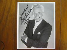 BOB BARKER(Truth or Consequences/The Price is Right)Signed Photo-8x10 B&W Glossy
