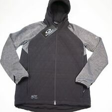 $175 Oakley Men's Quilted Jacket Size Medium Jet Black NWT